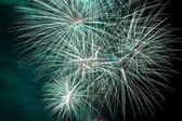 Fireworks international festival — Stock Photo