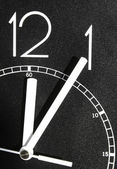 The is a symbol for time is running out — Stock Photo