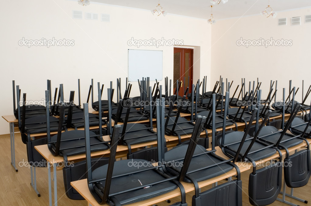 Interior of a school class  Stock Photo #1017810