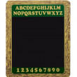 Foto Stock: Blackboard