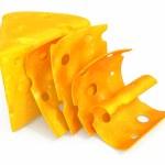 Cheese sliced — Stock Photo