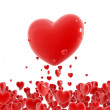 Red hearts - Photo