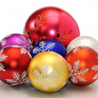 Royalty-Free Stock Photo: Cchristmas  decoration color ball