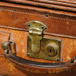 Royalty-Free Stock Photo: Suitcase made out of leather