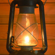 Old antique oil lantern — Photo