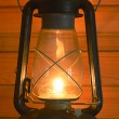 Old antique oil lantern — Stockfoto