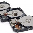 Stock Photo: Three hard disk