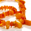 Royalty-Free Stock Photo: Beads, necklace made of amber