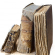 Stock Photo: Old religious books
