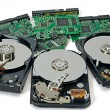 Three hard disk — Stock Photo