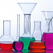 Stock Photo: Laboratory glassware