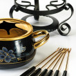 Fondue set — Stock Photo #1013524