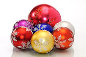 Cchristmas decoration color ball — Stock Photo