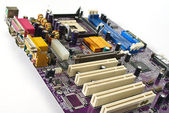 Computer motherboard, — Stock Photo