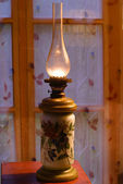 Kerosene / oil lamp — Stock Photo