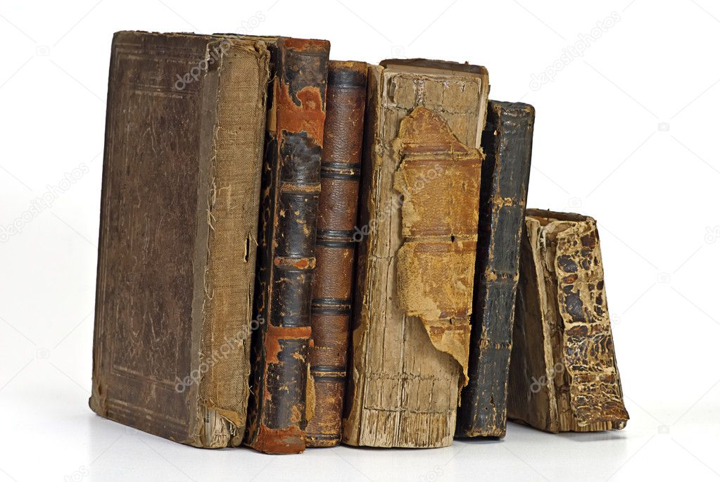 Old historic book on white — Stock Photo #1013371
