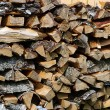 Stack (of firewood) — Stock Photo