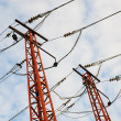 High electrical tower — Stock Photo