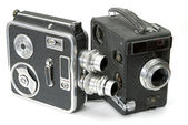 Retro cameras — Stock Photo