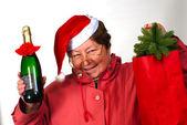 Mrs Santa Claus — Stock Photo