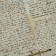 The old manuscript — Stock Photo