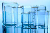 Glass laboratory equipment — Stock Photo