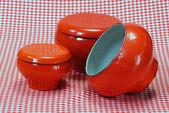 Cast-iron kettle / pot — Stock Photo