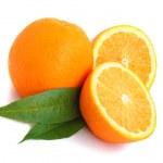 Orange citrus — Stock Photo