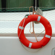 Stock Photo: Life-preserver ring