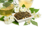 Jasmine tea — Stock Photo