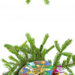 Color Christmas decoration - 图库照片