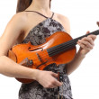 Royalty-Free Stock Photo: Beautiful violinist