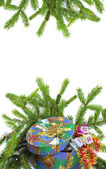 Color Christmas decoration — Stock Photo