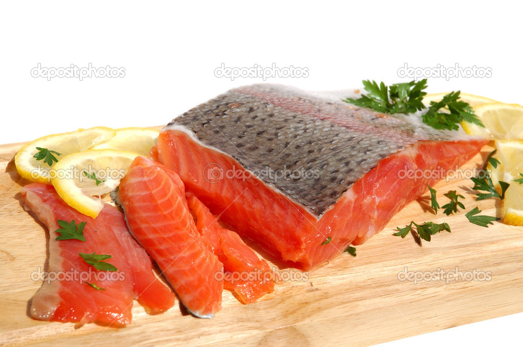 how to prepare raw salmon