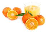 Sweet tangerines juice — Stock Photo