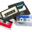 Group of cassette tapes — Stock Photo #1941858