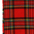 Red scottish plaid - Stock Photo