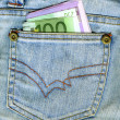 Money in Pocket — Stock Photo