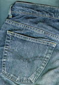 Fundo de calça jeans. — Fotografia Stock