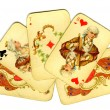 Old playing cards — Stock Photo #2611879