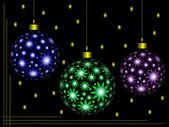Christmas ornament color — Stock Photo