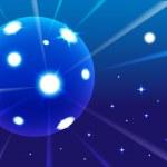 Luminescence sphere — Stock Photo