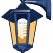 Royalty-Free Stock Imagen vectorial: Street lamp