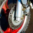 Bike wheel — Stock Photo #1013710