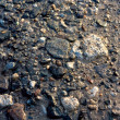 Stock Photo: Wet pebbles background