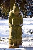 Ancient scythian idol — Stock Photo
