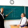Royalty-Free Stock Photo: Droll lecturer