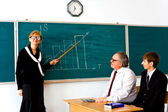 Droll lecturer — Stock Photo