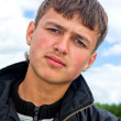 Young man closeup — Stock Photo