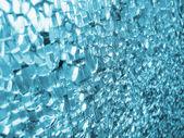 Texture of broken glass — Stock Photo